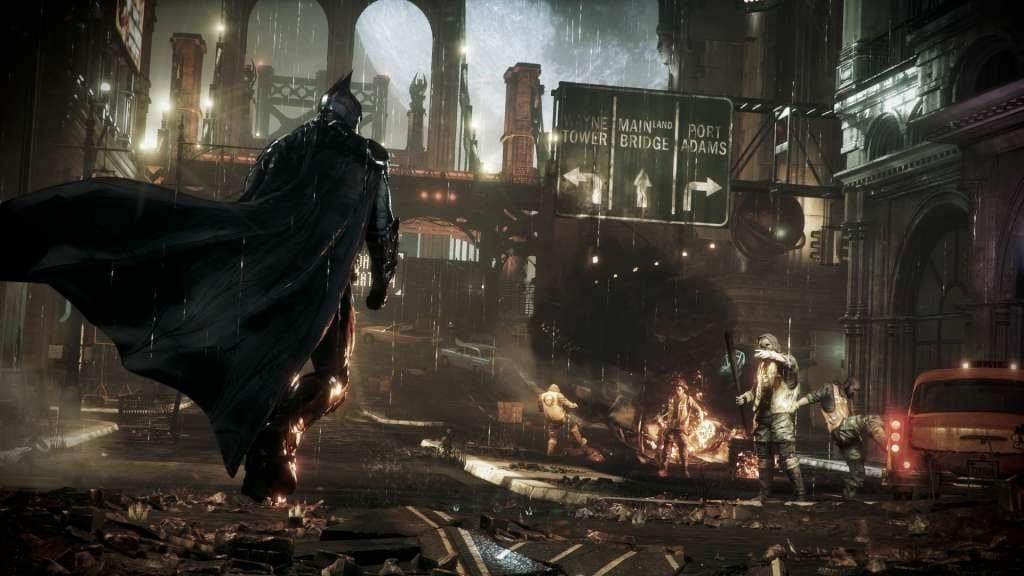 Gotham's Batman in Batman Arkham Knight