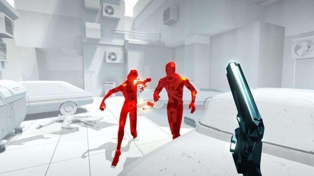 Superhot unique graphics