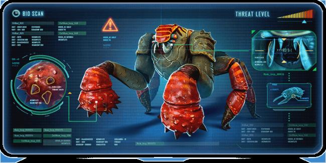 Subnautica below zero creatures