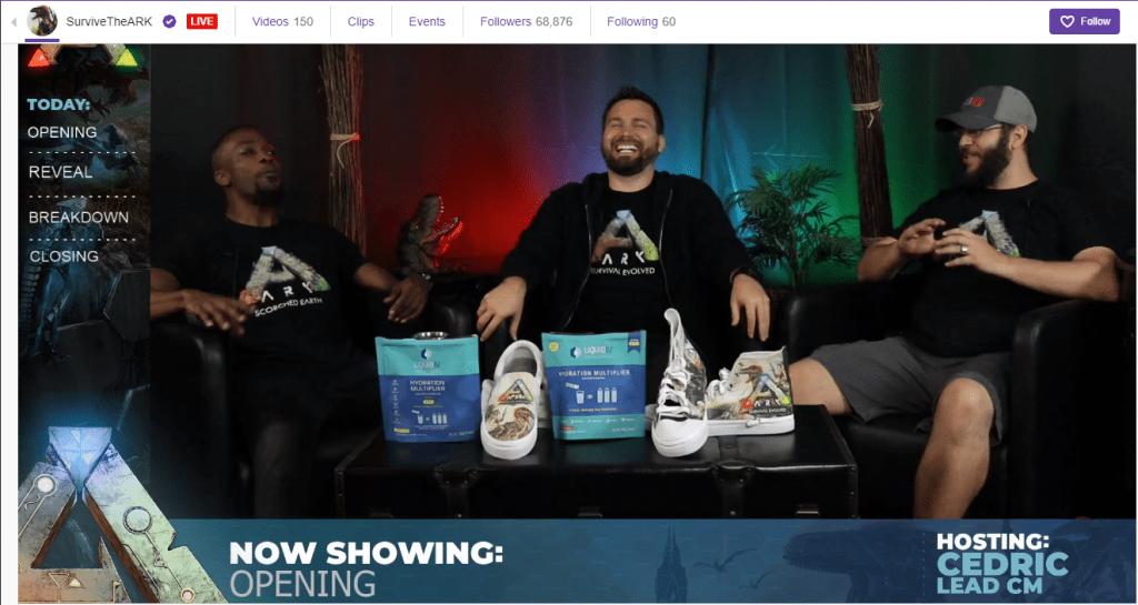 ark live stream