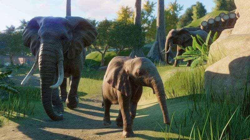 Planet zoo elephants