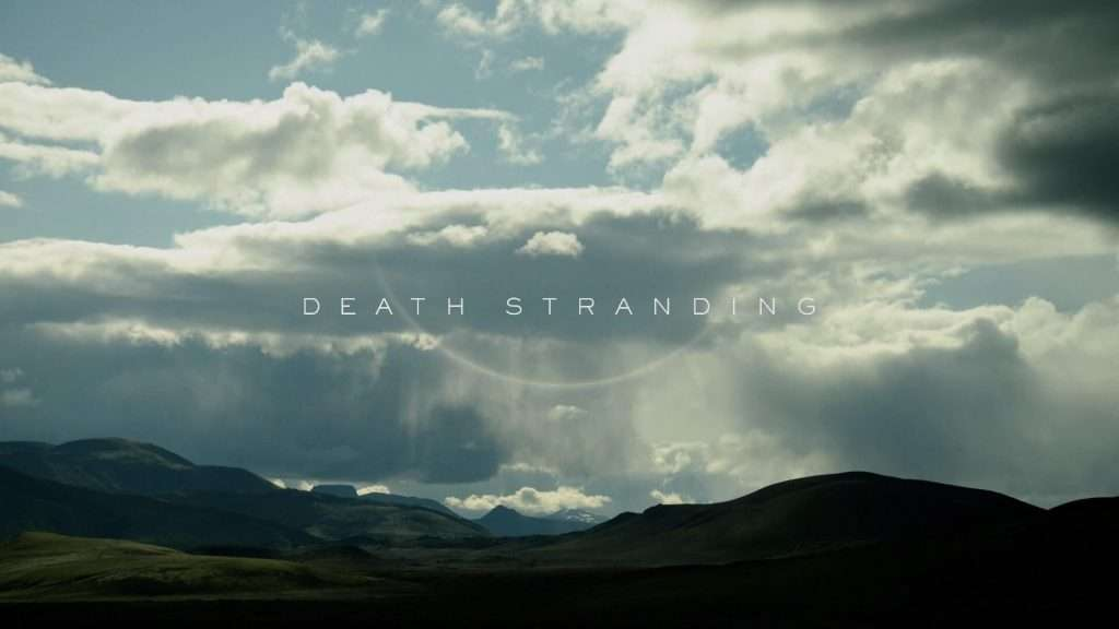death stranding title screen