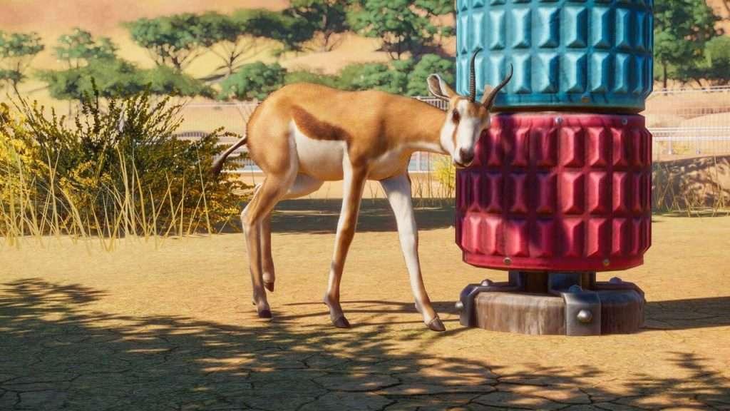 Planet Zoo springbok