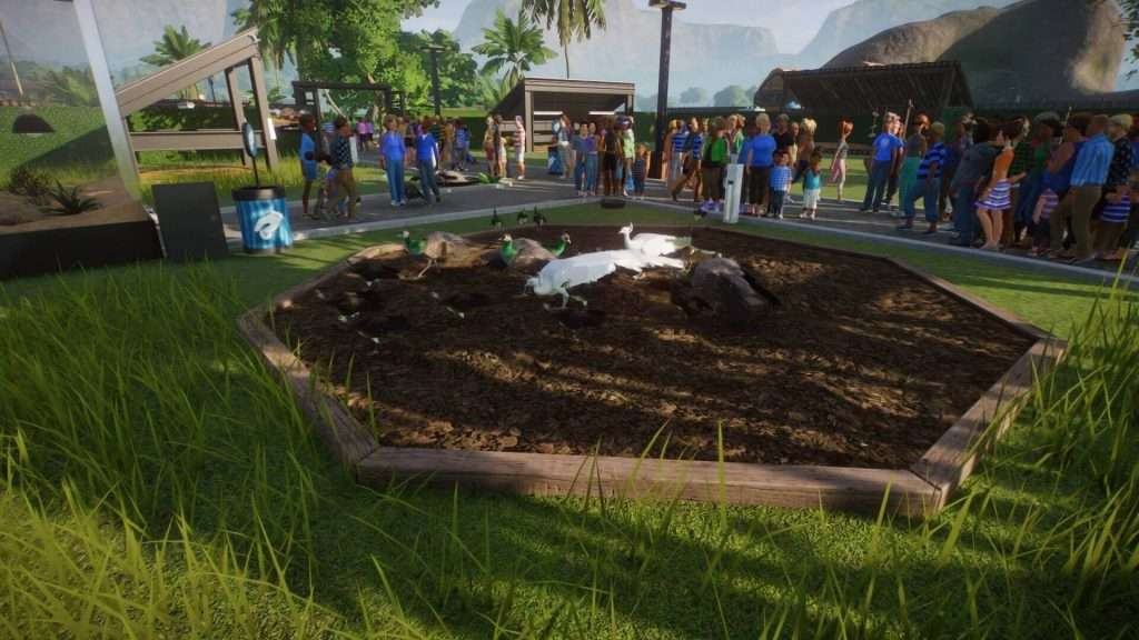 Planet Zoo animal enrichment