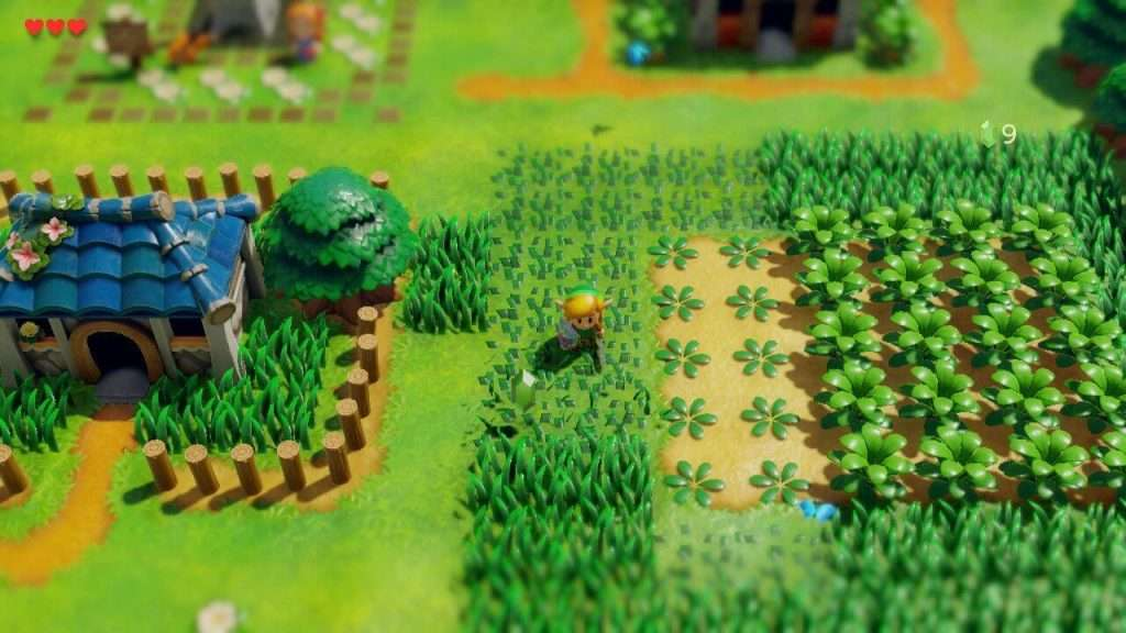 Zelda Links Awakening Graphics