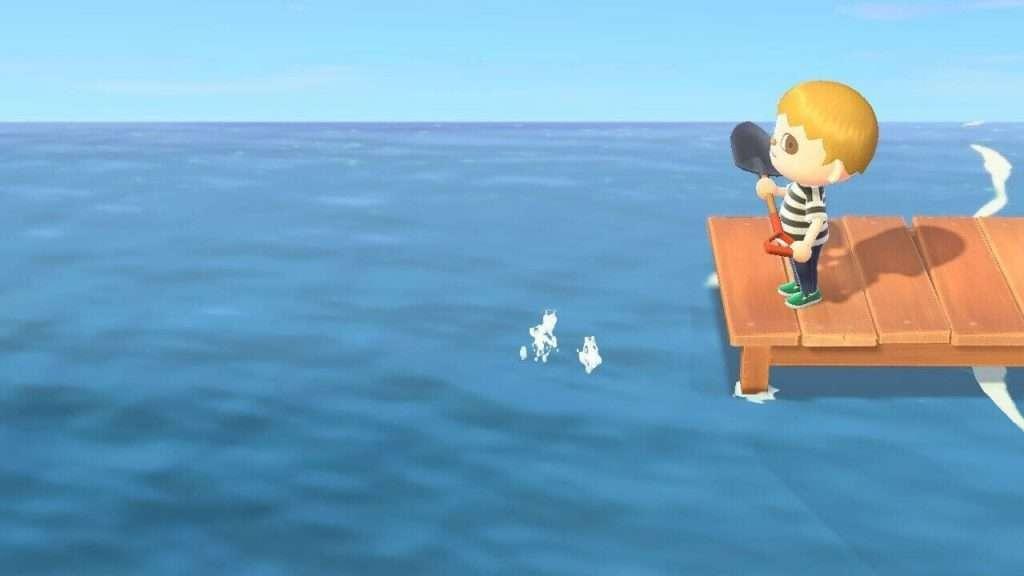 Animal crossing new horizons fishing