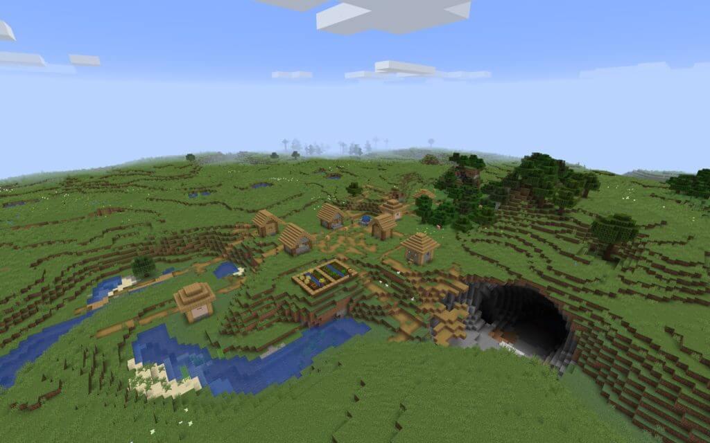 Minecraft meteor seed
