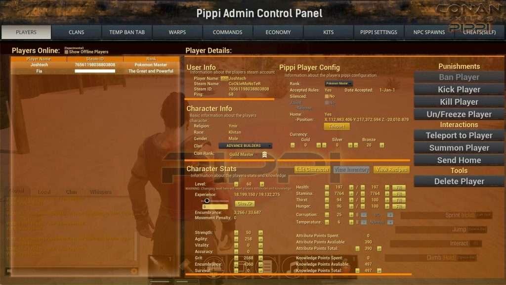 Conan Exiles PIPPI