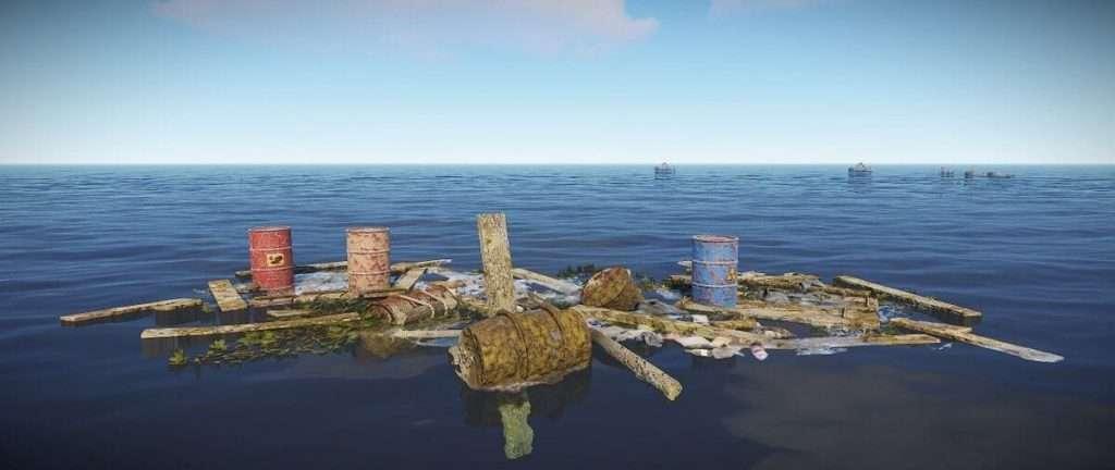 Rust game junk piles
