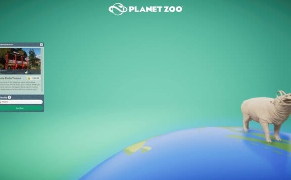 Planet Zoo statue
